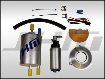 JHM Fuel Pump Upgrade Kit, High-Flow 255 LPH w High Volume Fuel Filter for B6 A4-S4 and EARLY B7 S4