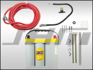 JHM Lightweight Battery Relocation Kit (w/ Battery) for B6-B7 A4-S4