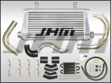 Intercooler Kit - Front Mount or FMIC (JHM) Large Core for B7-A4 2.0T - BLUE COUPLERS
