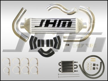 Intercooler Kit - Front Mount or FMIC (JHM) for B7-A4 2.0T - BLUE COUPLERS