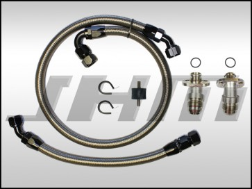 JHM Oil Cooler Line Upgrade (FOR JHM SC KITS ONLY) and -12AN Conversion Kit for B7-RS4