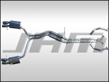 """Exhaust - Cat-Back FULL - Stainless Steel, 2.5"""" (JHM-FI) for B8-S5 3.0T-4.2L FSI (24v)"""
