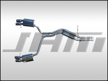 "Exhaust - Cat-Back PARTIAL - Stainless Steel, 2.5"" (JHM-FI) for B8-S4 3.0T FSI (24v)"