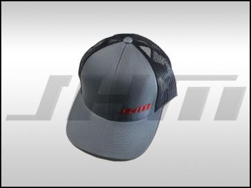 "JHM ""Trucker Style"" Black/Gray Mesh Hat"