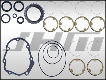 01E 6-speed Full Rebuild Kit (JHM-Performance) w/ OEM Updated 1-2 Collar