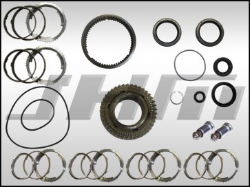 Transmission Rebuild Kit, 0A3 MT (OEM), FULL, 1-2 Collar Update, 2nd Gear for B7-RS4