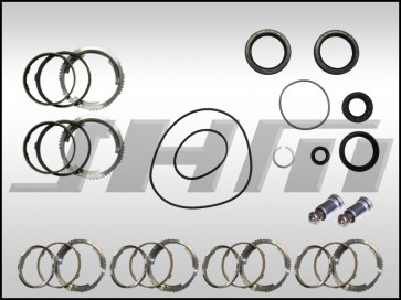 Transmission Rebuild Kit, 0A3 MT (JHM-Performance), MINIMAL, Seals and Synchros ONLY for B6-B7 S4 and RS4