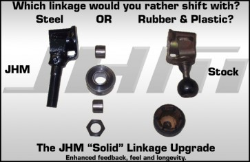JHM Solid Linkage Upgrade for B6-B7 A4, 2004 and up (6-speed)