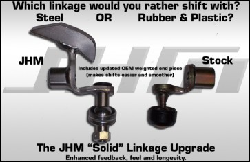 JHM Solid Linkage Upgrade for 02-03 B6 A4 3.0l V6 only(6-speed)