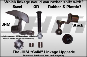 JHM Solid Linkage Upgrade for B6-B7 S4 and RS4, ALL