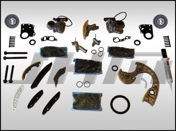JHM Timing Chain Service Kit (OEM) for B6-B7 S4, C6 A6 and C5 allroad w chain 4.2L 40v - FULL PLUS
