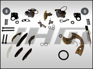 JHM Timing Chain Service Kit (OEM) for B6-B7 S4, C6 A6 and C5 allroad w chain 4.2L 40v - FULL