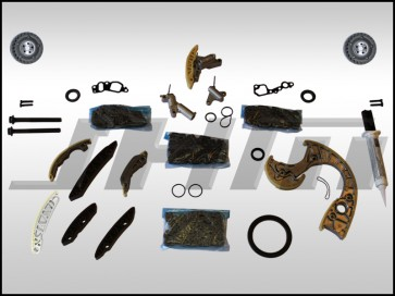 JHM Timing Chain Service Kit (OEM) for B6-B7 S4, C6 A6 and C5 allroad w chain 4.2L 40v - INTERMEDIATE PLUS