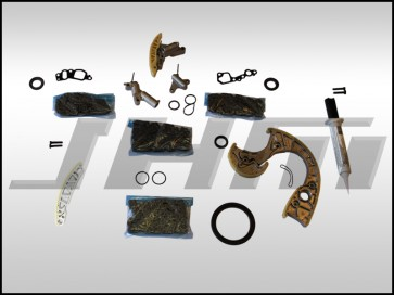JHM Timing Chain Service Kit (OEM) for B6-B7 S4, C6 A6 and C5 allroad w chain 4.2L 40v - MINIMAL PLUS