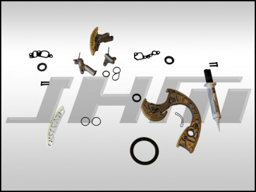 JHM Timing Chain Service Kit (OEM) for B6-B7 S4, C6 A6 and C5 allroad w chain 4.2L 40v - MINIMAL