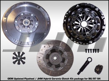 Flywheel and Clutch Combo (LUK-OEM updated) for 04 and up B6-B7 S4