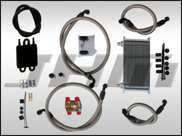 JHM Oil Cooler and Auxiliary Radiator Delete Kit for B6/B7 S4 and C5-allroad w chain 4.2L