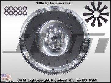 JHM Aluminum Lightweight Flywheel for B7 RS4