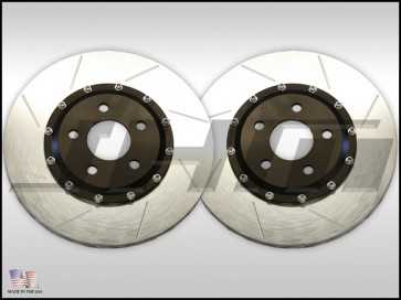 Rear Rotors(pair)-JHM 2-piece Lightweight for C5 RS6