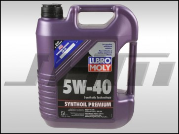 Motor Oil (Synthetic) Liqui- or Lubro-Moly (5w40) 5 Liter -2041