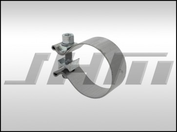 Exhaust Clamp, Torca Stainless Steel (Magnaflow) for 2.5 in Pipe Diameter