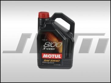 Motor Oil (Synthetic) Motul X-cess (5w40) 5 Liter -8100