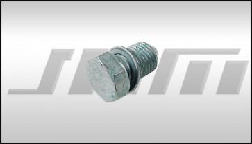 Oil Drain Plug w Sealing Washer (Febi) 4cyl and 6cyl 14mm thread