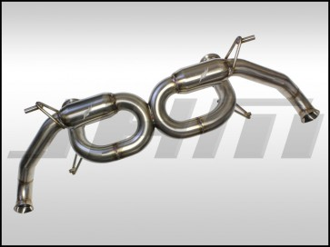 Exhaust - Cat-Back - JHM-FI R8 V8 Stainless Steel 2.75 Inch w X-Pipe