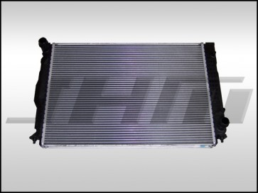 Radiator (OEM) For 2000-2001 C5 A6 w 2.7t and Auto Trans