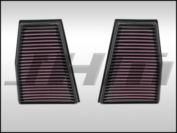 Air Filter, Performance (K&N) for Audi B8-B8.5 RS5 4.2l -Left and Right - PAIR