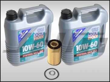 Oil Change Kit (JHM) LiquiMoly Synthoil Race Tech GT1 (10w60) for B6/B7 S4 and C5-allroad w chain 4.2L