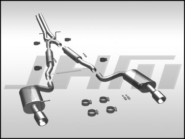 Exhaust - Cat-back (Magnaflow) for C5-A6 2.7T and C5-allroad 4.2L V8