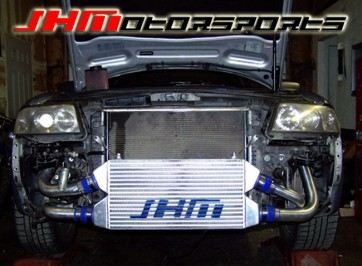 JHM Front Mount Intercooler (FMIC) Kit for C5-allroad 2.7t - BLUE COUPLERS