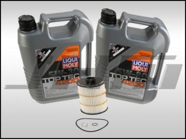 Oil Change Kit (JHM) Liqui-Moly Top Tec 4200 (5w30) for 4.0T C7-C7.5 S6-S7-RS7, D4-D4.5 A8-S8