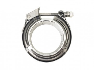 "V-Band Flange Assembly (Male-Female) w Quick Release, T304 Stainless Steel (ESP), for 2.5"" O.D. Tubing"