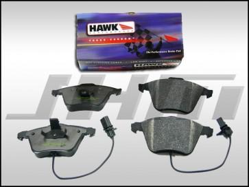 Front Brake Pads - Hawk Ceramic (Street) for A3, Q3, Beetle, CC, Golf, GTI, Jetta, Passat, Tiquan