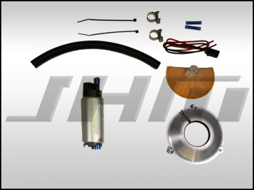 JHM Fuel Pump Upgrade Kit, High-Flow 255 LPH w/ Drop-In Adapter for B5 A4-S4-RS4