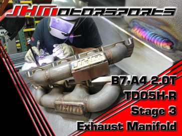 JHM TD05H-R Stage 3 Big Turbo (SS LOG MANIFOLD) MANIFOLD ONLY for B7-A4 2.0T