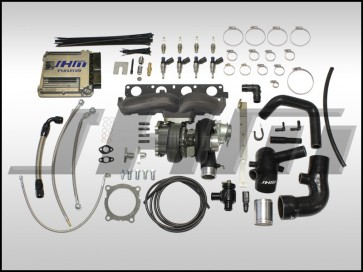 JHM TD05H-R Stage 3 Big Turbo Kit (CAST MANIFOLD) w/ Tune (Fueling Required) for B7-A4 2.0T