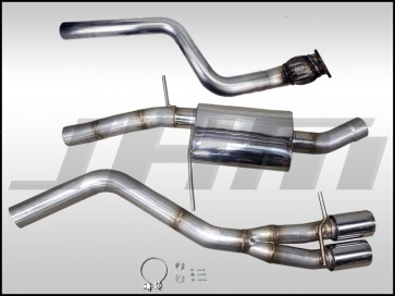 """Exhaust - JHM -FULL- 3"""" Performance Catback for Audi B8 A4-A5 2.0T (Single Exit)"""