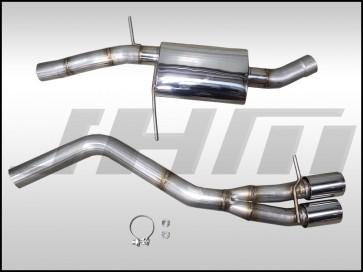 "Exhaust - JHM - PARTIAL - 3"" Performance Catback for Audi B8 A4-A5 2.0T (Single Exit)"