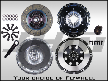 JHM R Series Lightweight Flywheel (Chrome-Moly Forged) and Clutch Combo for B7-RS4