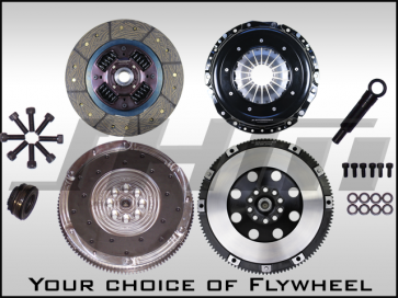 JHM R Series Lightweight Flywheel (Chrome-Moly Forged) and Clutch Combo for B6-B7 S4