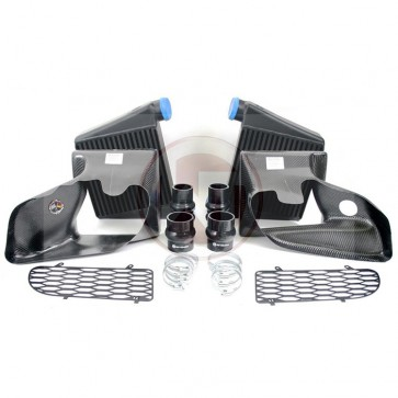 Side Mount Intercooler Kit (Wagner) for B5 RS4, With Shrouds