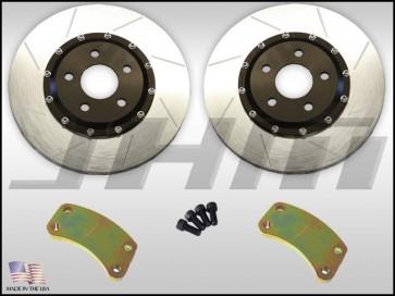 """Rear BBK (Big Brake Kit), JHM 325mm (12.8"""") for C5 A6-allroad w/ 2.7T"""