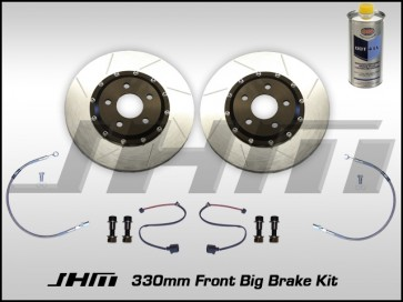 Front BBK (Big Brake Kit) JHM 330mm Cayenne (Brembo 6-piston) B5-S4, C5-A6-allroad, B6-B7 A4 - NO Calipers