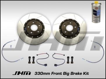 Front BBK (Big Brake Kit) JHM 330mm Cayenne (Brembo 6-piston) C5-A6-S6 4.2L - NO Calipers