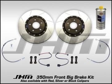 Front BBK (Big Brake Kit) JHM 350mm Cayenne (Brembo 6-piston) C5-A6-S6 4.2L NO Calipers