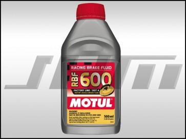 Brake Fluid - DOT 4 Synthetic Racing (MOTUL) - 0.5 Liter