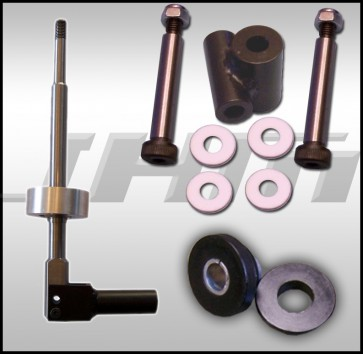 JHM Trio Package - Solid Shifter, Linkage and Bushing for 1998-1999, B5 A4, Passat, Early (w/ Shifter Base)